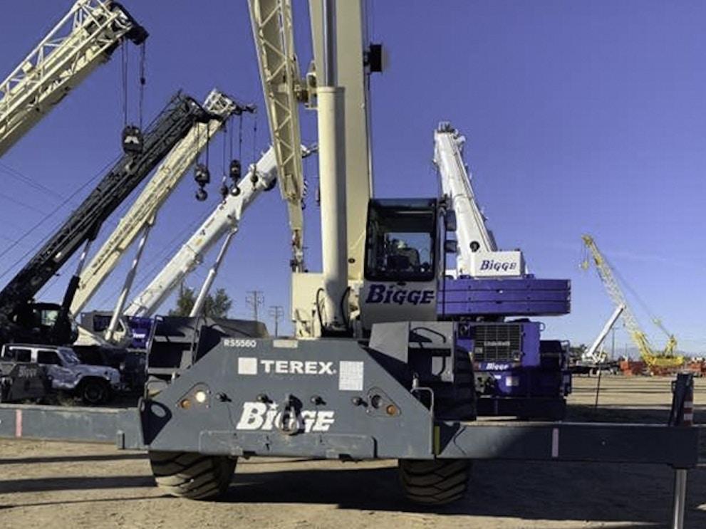 2011 Terex RT555 1 RTC55160 1
