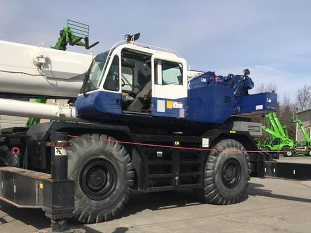 2012 Tadano GR 750 XL 2 RTC75159 7