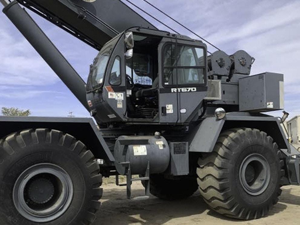2012 Terex RT670 RTC65139 1