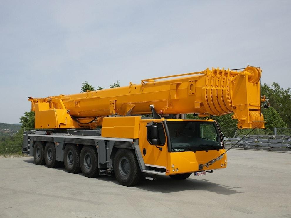 2017 Liebherr LTM1250 300901
