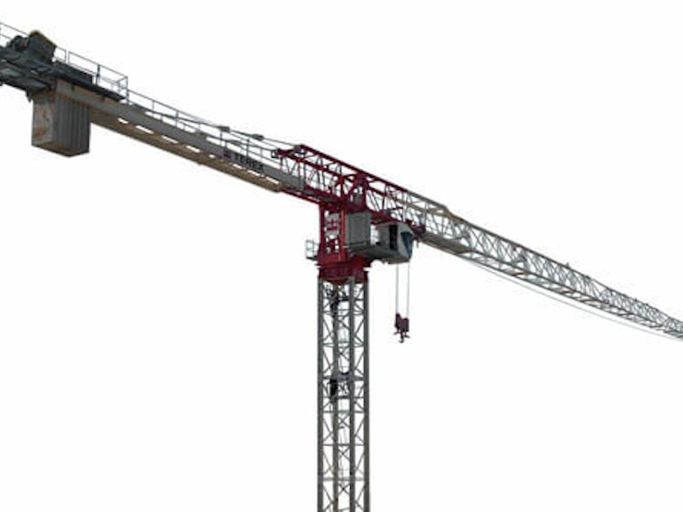 Terex ctt 721 flat top tower cranef976847e4cc142028fe0427c85da01db