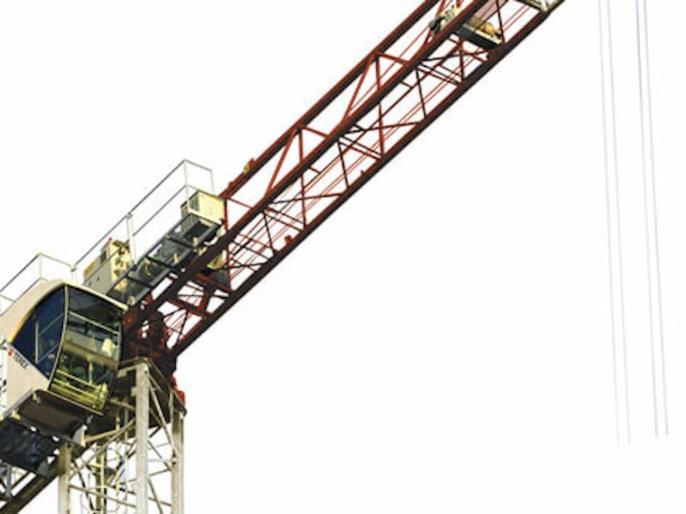 Terex ctt 91 flat top tower crane37d301e989c0420882bae0b9dc043046